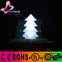 illuminated led lighting decorations remote control colored christmas tree decor