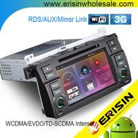 "Erisin ES2246B 7"" E46 Android 4.4.4 2 Din Car DVD GPS Navigation"