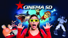 2015 hot sell 5D cinema six rider 6d cinema system manufucturer