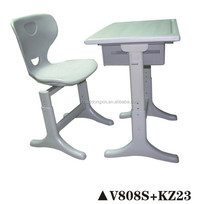 School house desk and chair set