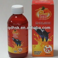 orange flavour multivitamin syrup multivitamin