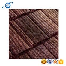 Stone Coated Roof Tile/Metallic Glazed Ceramic Tile Rose Color