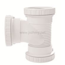 UPVC pipe fittings plastic pipe The mute tee