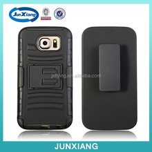 Military case with kickstand phone cover for Samsung S6