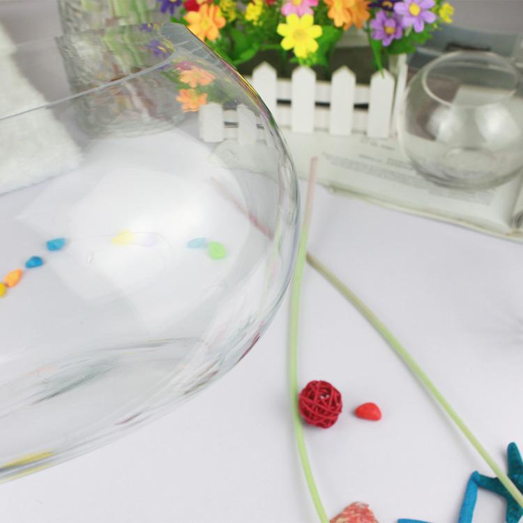 Tank de poisson rond en verre aquarium r servoirs de for Prix aquarium rond
