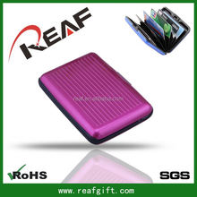 Blocking Rfid Card Wallet,Secure Credit Cards From Identity Theft,silver card wallet