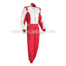 custome made car racing suit and bright twill auto racing wear and bright twill kart suit