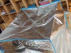 removable waterproof aluminum foil heat insulation pallet cover