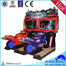 Crazy and stimulate amusement game motorcycle frame racing
