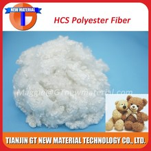 siliconized recycled polyester fiber, 3Dx64mm recycled polyester staple fiber