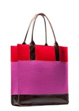 hot selling felt shopping tote bags