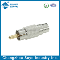 rf rca male to female connector