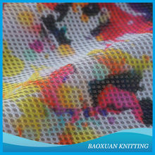 3mm digital printed 3d spacer sandwich mesh fabric