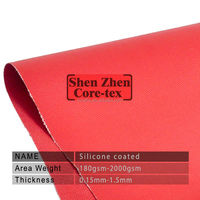 silicone coated fiberglass fabric for air duct