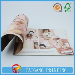 printing magazine in short production time with competitive price made by professional manufacturer in China