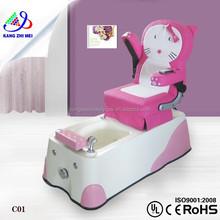 2014 venta al por mayor del cabrito pedicura spa sillas / niños spa muebles ( KM-C01 )