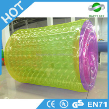 The most popular toys!!!enjoyable water ball pool,inflatable water roller,bubble rollers for sale