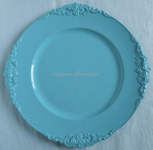 Spring color Charger Plate