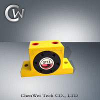 Switzerland GT Series Yellow Color Turbine Electric Ball Vibrator-Industrial Pneumatic Vibrator