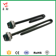 Heating tube for solar/electric water heater