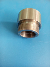 high quality W1 W2 machined tungsten tube and screw according to your drawing