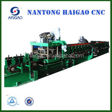 The New High Speed CNC Cut C/Z Steel roll forming machine/ sheet metal roof making machine