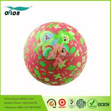 "Cartoon pattern custom printed 5"",7"",8.5"",10"",13"",16"" rubber balls"