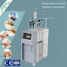 Inyección de oxígeno rejuvenecimiento de la piel máquina de la belleza