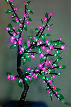 Hot sale! mini christmas lilac tree light led for outdoor landscape lighting