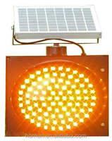 2016 Manufacturer 300mm Road Safety Solar Powered LED Traffic Warning Light