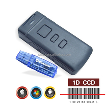 CT20 best barcode 1D wireless handy handhled portable scanner with memory
