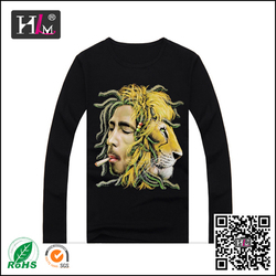 2014 new fashion sublimation long sleeve t-shirt motorcycle for woman