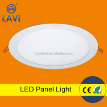 Residential slim ceiling flat led panel light 18w round /square cool and warm color