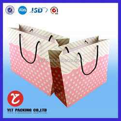 Hot product kraft paper gift bags wholesale/christmas gift bag/organza gift bag in alibaba