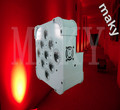 el precio de fábrica!! 9pcs RGBAW + UV LED de batería inalámbrica luces PAR / luces de discoteca lideradas