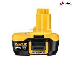 replacement Dewalt Li-ion power tool rechargeable battery pack 18V