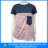 Shenzhen most popular products clothes fashion blank ladies tshirt
