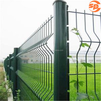 good quality PVC coated /galvanized welded mesh fence
