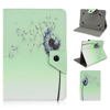 Fashion Colored Drawing Flower PU Leather Flip Wallet Case For iPad 2 3 4 5 6 Mini Air