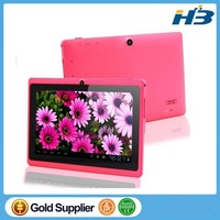 Free Shipping 7 inch A33 Quad Core Q88 Tablet Dual Core WIFI MID two Camera Android 4.4 512MB 4GB Surfing Cheapest Popular PAD