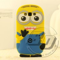 High Quality Mobile Phone Case For Samsung Galaxy A7 Silicone 3D Cartoon Back Cover Case