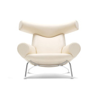 OX lounge chaise chair , bedroom chaise lounge, OX chair