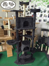Dspet High Quality Deluxe Cat Tree Condo Furniture Scratching Pet House Play Toy