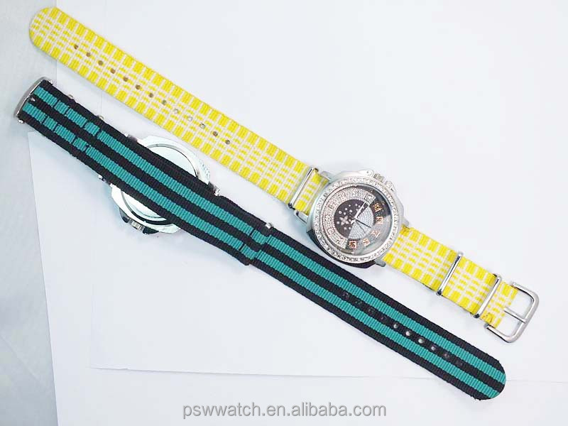 High quality new style nylon strap custom watch