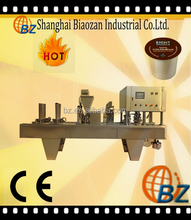 plastic coffee cup filling sealing machine