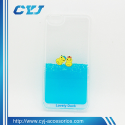 Liquid duck pc hard case for iphone case for Samsung case