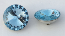 Glass plastic crystal buttons for furniture