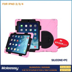 durable dustproof leather case for ipad 4