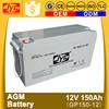agm batteries 12v 150ah agm deep cycle battery for solar power