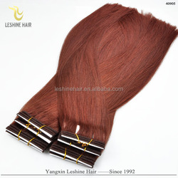 2016 Top Quality Wholesale Remy Private Label hair extention weave russian european